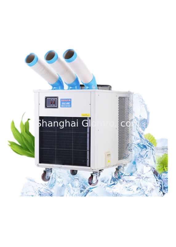 Powerful Industrial Mobile Air Conditioner Low Noise For Production Line