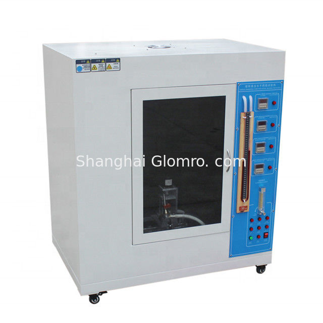 Accurate Timing Plastic Horizontal Vertical Burning Tester